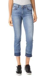 Укороченные джинсы Gainsbourg с винтажной отделкой по линии низа Mc Guire Denim