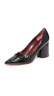 Туфли-лодочки Florence с пуговицей Marc Jacobs