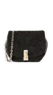 Седельная сумка West End Jane с короткой шерстью Marc Jacobs