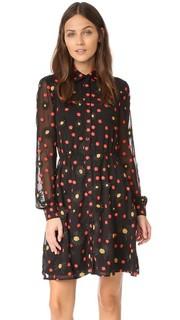 Платье-рубашка на пуговицах Enid Alice + Olivia