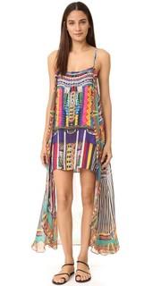 Мини-платье Woven Wonderland с длинным накладным элементом Camilla
