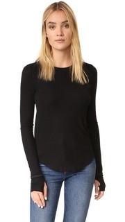 Рубчатая футболка Aida с длинными рукавами Feel The Piece