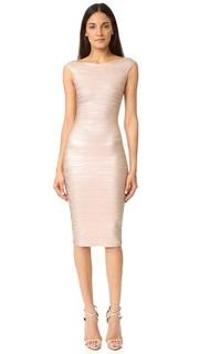 Платье Ardell из тонкой ткани Herve Leger
