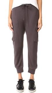 Трикотажные брюки-карго Pacific R13