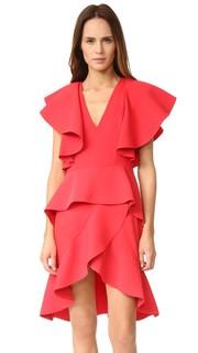 Платье без рукавов с оборками Goen.J
