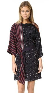 Платье-кимоно с каскадными лентами 3.1 Phillip Lim