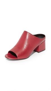 Туфли без задника Cube с открытым носком 3.1 Phillip Lim