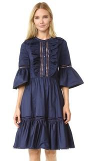 Платье из хлопка Morganne Temperley London