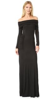 Вечернее платье с открытыми плечами Yigal Azrouel