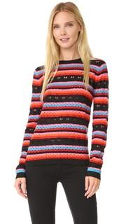 Кружевной свитер Rainbow Love Bella Freud