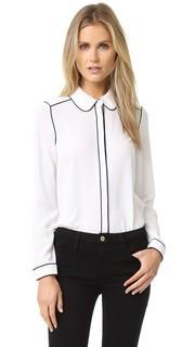 Блуза с окантовкой Maude Cooper & Ella