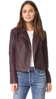 Байкерская куртка Joslyn из искусственной кожи с эффектом потертости Cupcakes and Cashmere