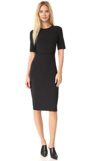 Платье с короткими рукавами Edition10