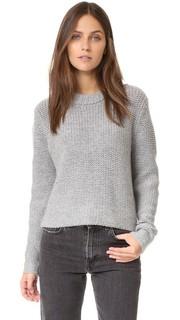 Укороченный кашемировый свитер James Perse