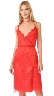 Кружевное платье с покрытием без рукавов Nina Ricci