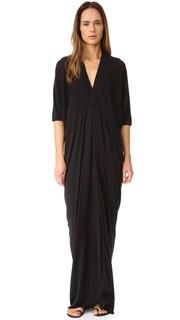 Вечернее платье с короткими рукавами Rick Owens Lilies