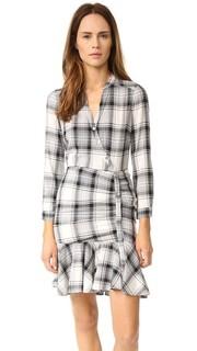 Платье-рубашка со сборками Veronica Beard