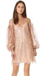 Роскошное свободное платье-туника из кружева Zimmermann