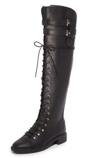 Ботфорты на шнуровке Gryffin Joie