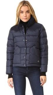Пуховая куртка Rockwool с замшевой кокеткой Penfield