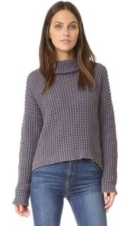 Пуловер с вафельной текстурой Tejido