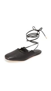 Обувь на плоской подошве Lila с ремешком на щиколотке Tibi