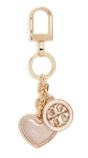 Брелок для ключей в форме сердца с логотипом Tory Burch
