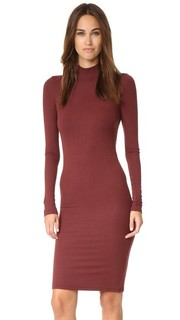 Платье с длинными рукавами и высоким воротником ATM Anthony Thomas Melillo
