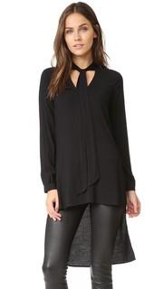 Эластичная асимметричная блуза Stella