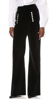 Бархатные брюки Holly Fulton