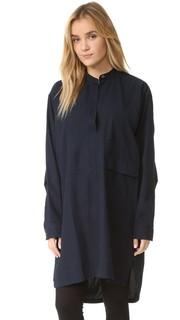 Платье-рубашка Parka Helmut Lang