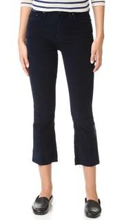 Вельветовые брюки Insider с потрепанными краями Mother