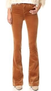 Расклешенные брюки Janis с высокой посадкой AG