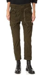 Вельветовые брюки-карго с карманами Faith Connexion