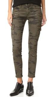 Узкие байкерские джинсы карго Colby до щиколоток Hudson