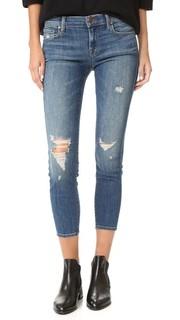 Укороченные джинсы-скинни с низкой посадкой J Brand