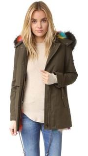 Разноцветная армейская куртка Bodia Jocelyn