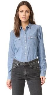 Современная рубашка с зубчатыми клапанами на карманах Levis®