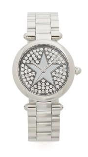Часы с кристаллами и звездой Marc Jacobs