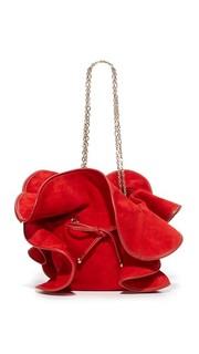 Замшевая сумка Mini Lilly Nina Ricci