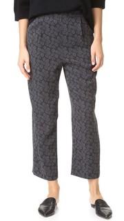 Шелковые пижамные домашние брюки Vince