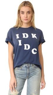 Футболка IDK IDC Wildfox