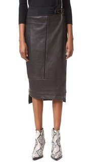 Длинная юбка с запахом Zero + Maria Cornejo