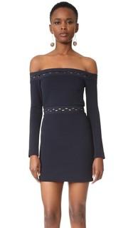 Мини-платье Eclipse с длинными рукавами Dion Lee