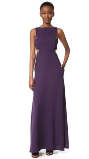 Вечернее платье с вырезами Jill Jill Stuart