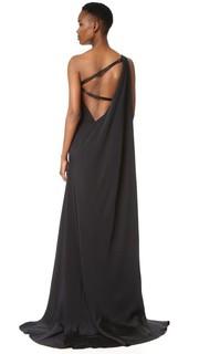 Вечернее платье с открытым плечом Kaufmanfranco