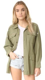 Куртка в стиле милитари Loveshackfancy