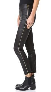 Кожаные брюки Chatel Rag & Bone