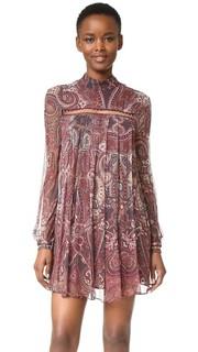 Мини-платье Labyrinth с узором «восточный огурец» The Jetset Diaries