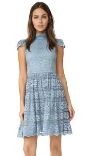 Платье Maureen с короткими рукавами Alice + Olivia